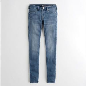 hollister light wash jean legging skinny jeans